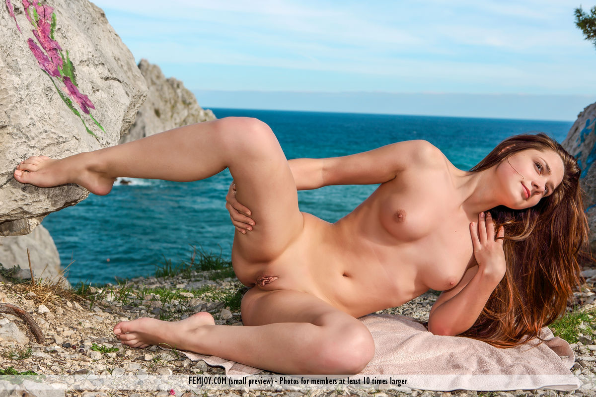Nude girls on the rocks femjoy think, that